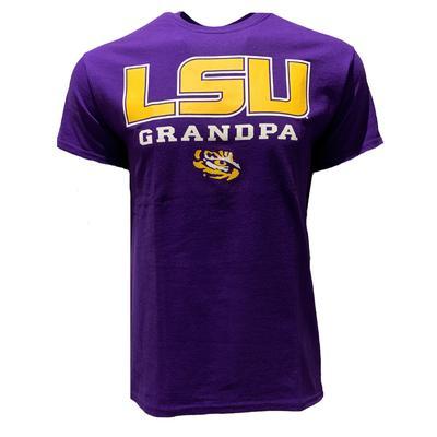 LSU Bayou Apparel Short Sleeve Grandpa T-Shirt
