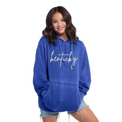 Kentucky Chicka-D Women's Everybody Large Script Hoodie