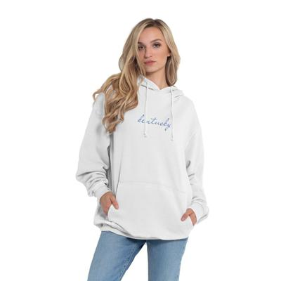 Kentucky Chicka-D Women's Everybody Script Embroidered Hoodie