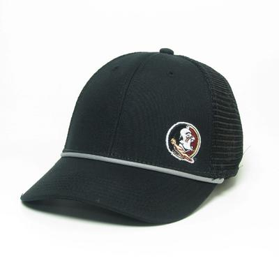 Florida State Legacy Men's Lo-Pro Left Hit Rope Trucker Adjustable Hat