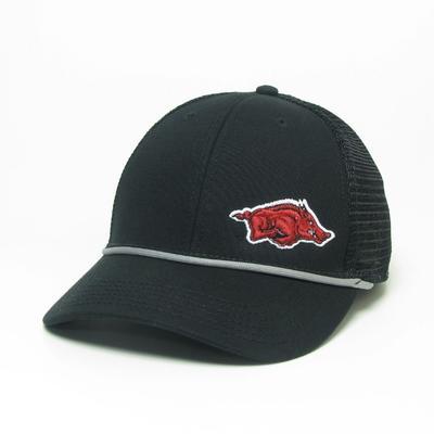 Arkansas Legacy Men's Lo-Pro Left Hit Rope Adjustable Trucker Hat