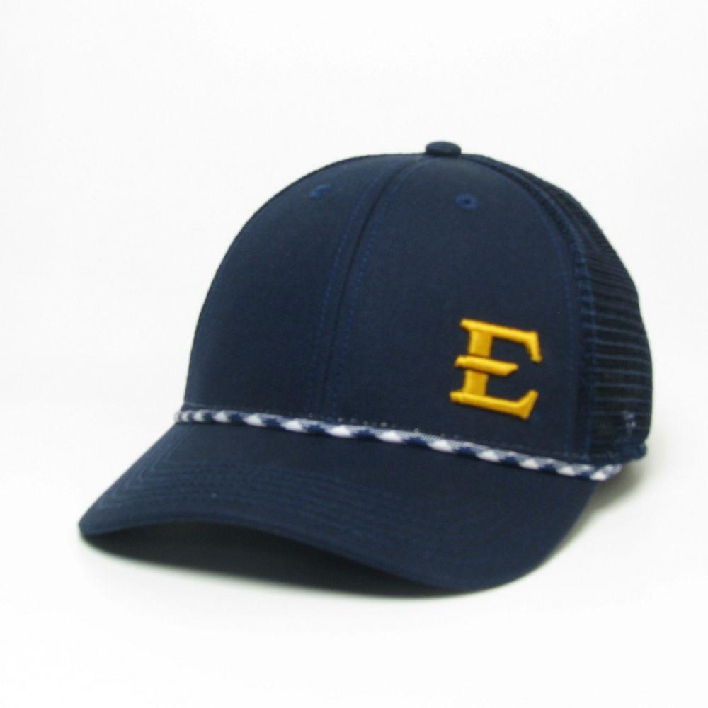 Etsu Legacy Men's Lo- Pro Left Hit Rope Adjustable Trucker Hat
