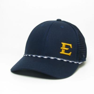 ETSU Legacy Men's Lo-Pro Left Hit Rope Adjustable Trucker Hat