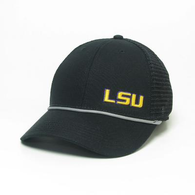 LSU Legacy Men's Lo-Pro Left Hit Rope Adjustable Trucker Hat