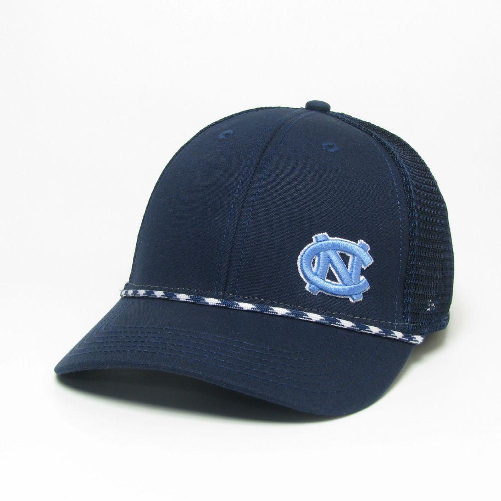 Unc Legacy Men's Lo- Pro Left Hit Rope Adjustable Trucker Hat