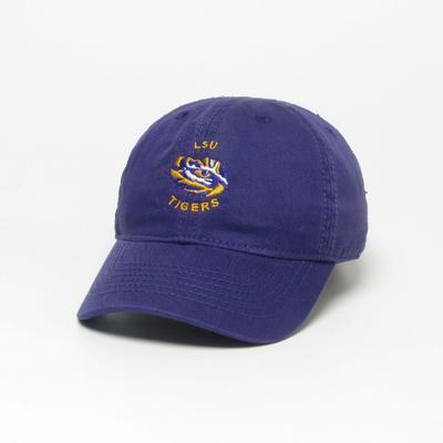 LSU Legacy Toddler Arch LSU Logo Twill Adjustable Hat