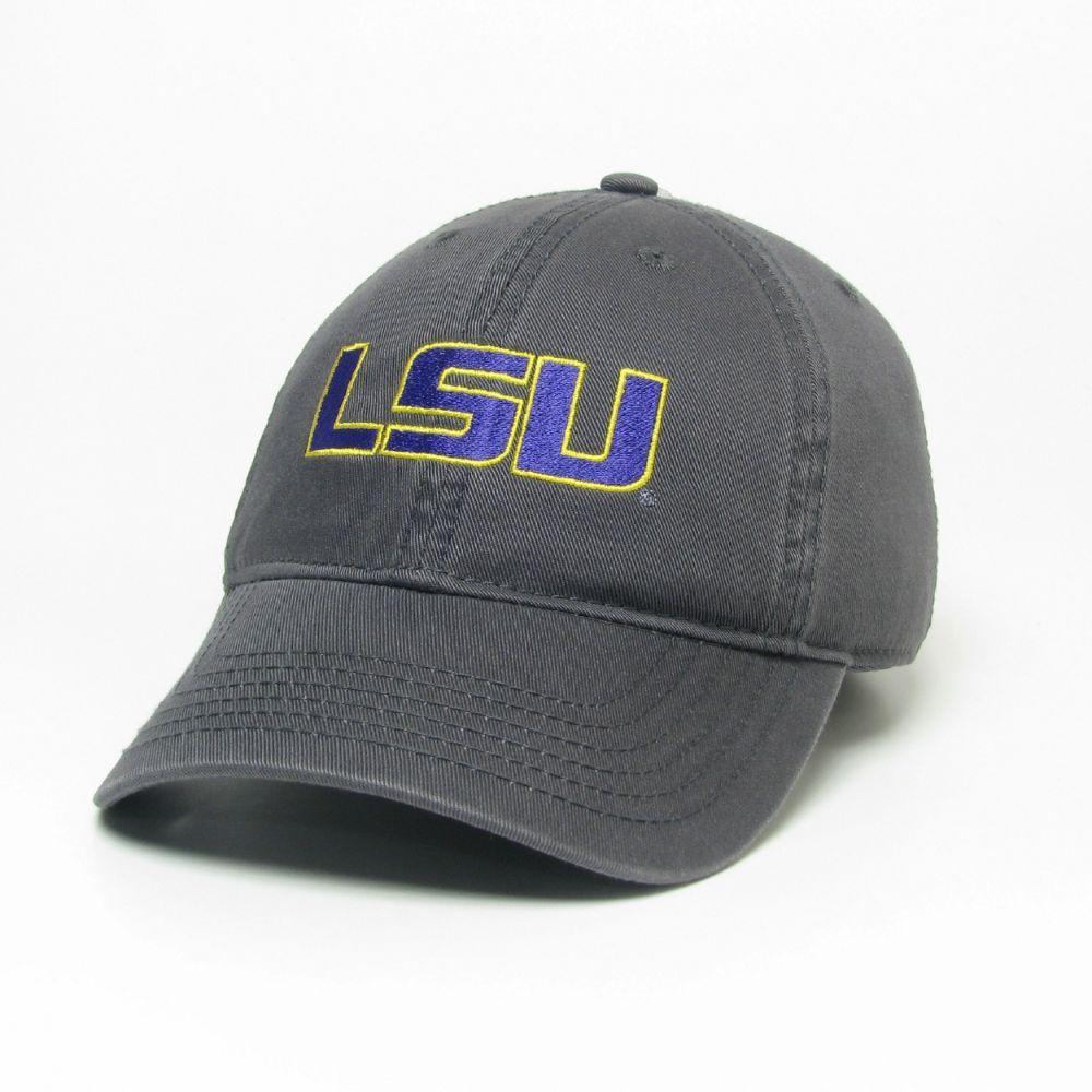 Lsu Legacy Youth Lsu Logo Twill Adjustable Hat