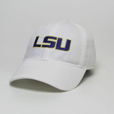 LSU Legacy Youth LSU Logo Twill Adjustable Hat