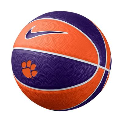 Clemson Nike Mini Rubber Basketball