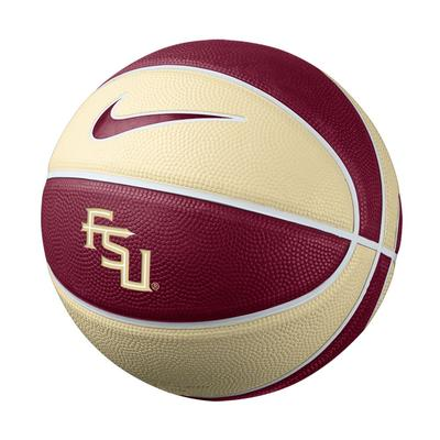 Florida State Nike Mini Rubber Basketball