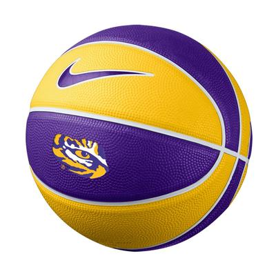 LSU Nike Mini Rubber Basketball
