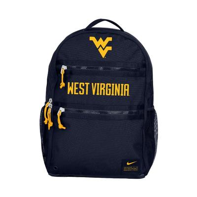 West Virginia Nike WVU Heat Backpack