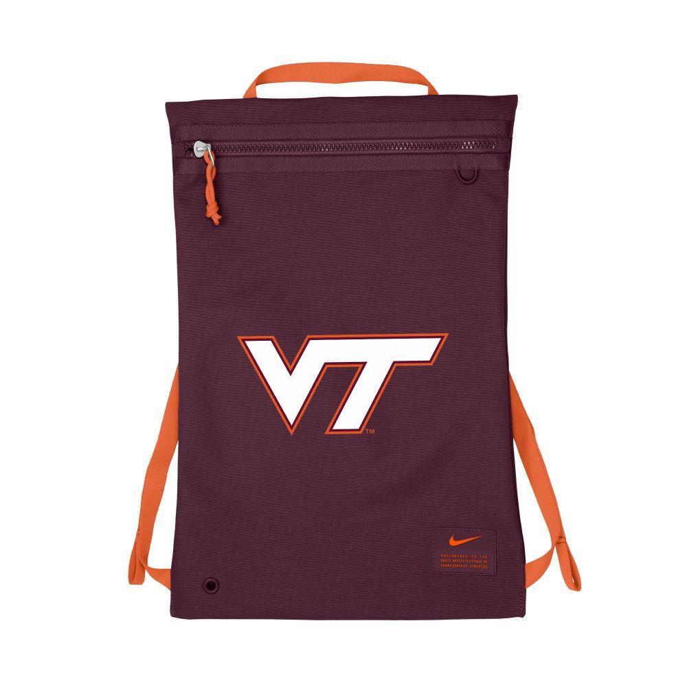 Virginia Tech Nike Vt Utility Gymsack