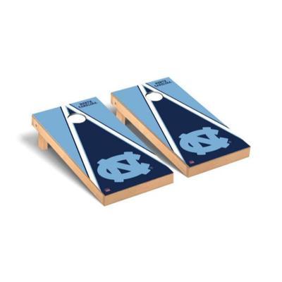 UNC Triangle Cornhole Set