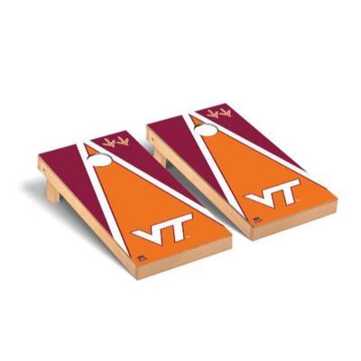 Virginia Tech Triangle Cornhole Set