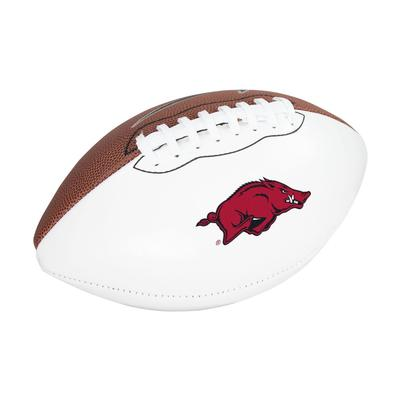 Arkansas Nike Autograph Football