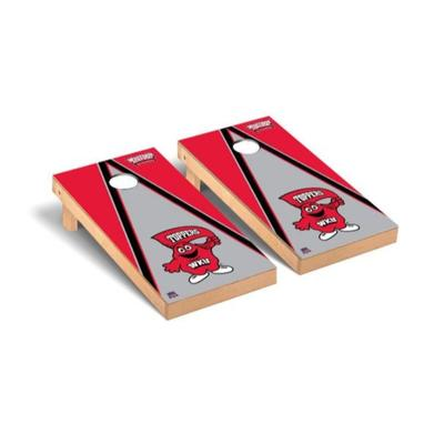 Western Kentucky Big Red Triangle Cornhole Set