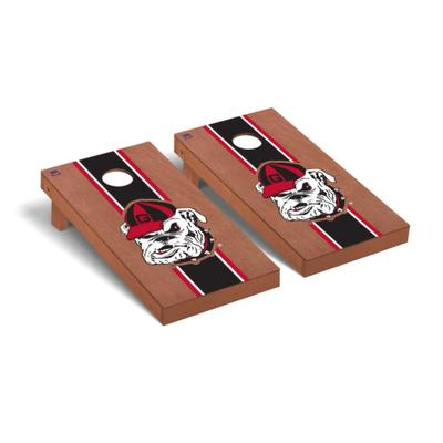 Georgia Old Bulldog Rosewood Cornhole Set