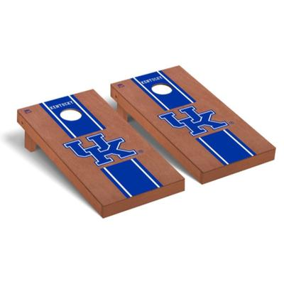 Kentucky UK Rosewood Stripe Cornhole Set