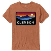 Clemson League Horizon Short Sleeve Tee