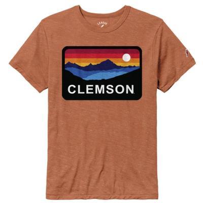 Clemson League Horizon Short Sleeve Tee HTHR_ORANGE