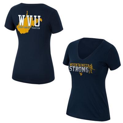2020 West Virginia Women's Ultimate Fan T-Shirt