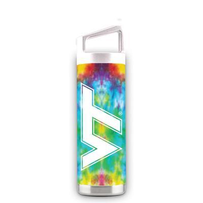 Virginia Tech 16 oz Virginia Tech Tie Dye Bottle