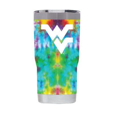 West Virginia 20 oz West Virginia Tie Dye Tumbler
