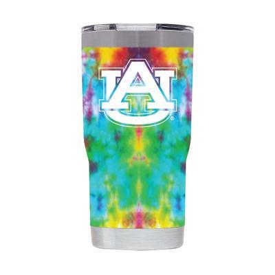 Auburn 20 oz Auburn Tie Dye Tumbler