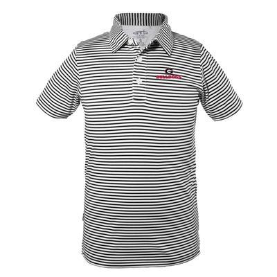 Georgia Youth Carson Stripe Polo