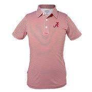 Alabama Youth Carson Stripe Polo
