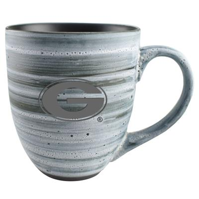Georgia 15oz Grey Swirl Ceramic Mug