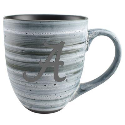 Alabama 15oz Grey Swirl Ceramic Mug