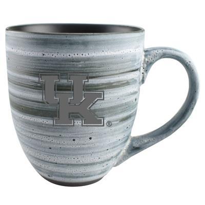 Kentucky 15oz Grey Swirl Ceramic Mug