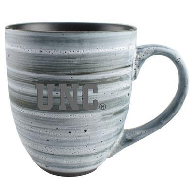 UNC 15oz Grey Swirl Ceramic Mug