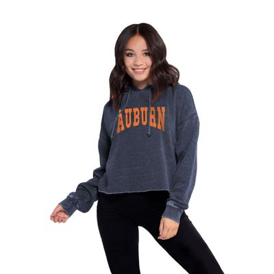 AuburnChicka-D Women's Campus Cropped Jumbo Squeeze Hoodie