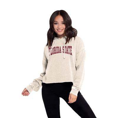 Florida State Chicka-D Women's Campus Cropped Jumbo Squeeze Hoodie