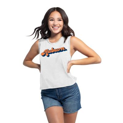 Auburn Chicka-D Women's Campus Angled Vintage Concert Tank