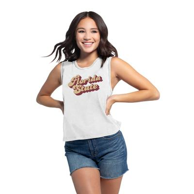 Florida State Chicka-D Women's Campus Angled Vintage Concert Tank