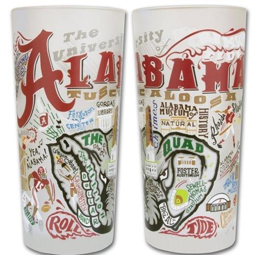 Alabama College Town Glass