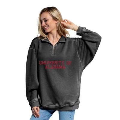 Alabama Chicka-D Women's Everybody Stacked College 1/4 Zip Pullover