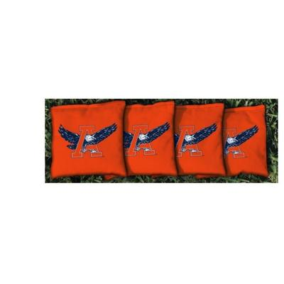 Auburn Vault A Eagle Orange Cornhole Bag Set