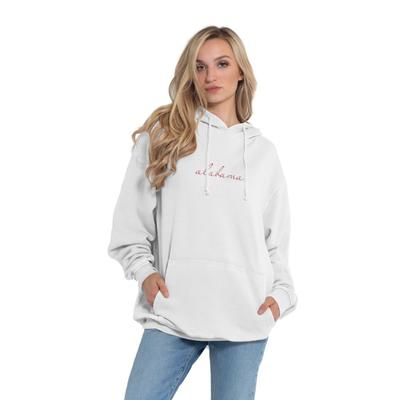 Alabama Chicka-D Women's Everybody Script Embroidered Hoodie