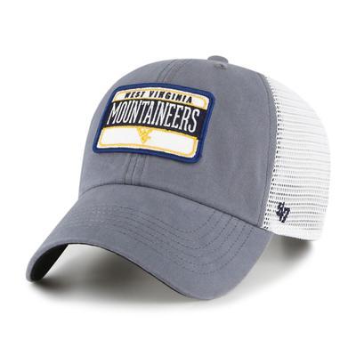 West Virginia 47' Brand Fluid Clean Up Mesh Hat