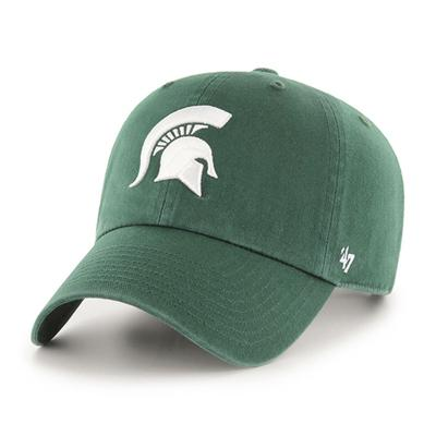 Michigan State 47' Brand Clean Up Spartan Logo Adjustable Hat