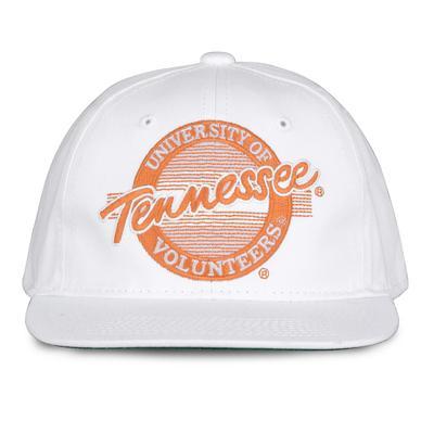 Tennessee Retro Circle Adjustable Flatbill Hat