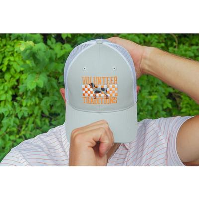 Tennessee Volunteer Traditions Bluetick Hound Checker Promesh Hat