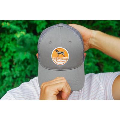 Tennessee Volunteer Traditions Bluetick Hound Patch Grey Promesh Hat