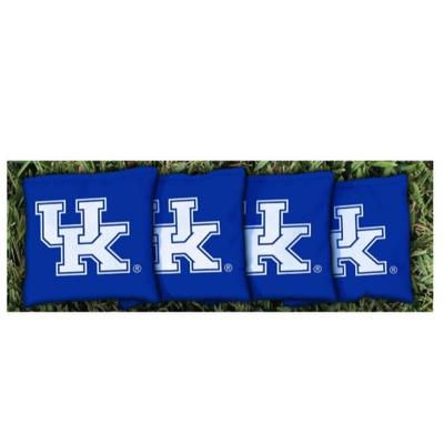 Kentucky UK Royal Cornhole Bag Set