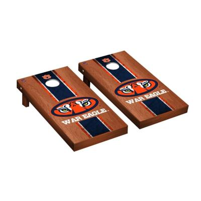 Auburn Tiger Eye War Eagle Rosewood Cornhole Set
